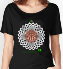 CELTIC FLOWER OF LIFE VORTEX MERCH OCT 2012 Women's Relaxed Fit T-Shirt