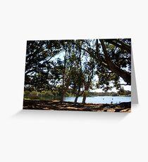 Lake Claremont Vista 08 10 12 Greeting Card
