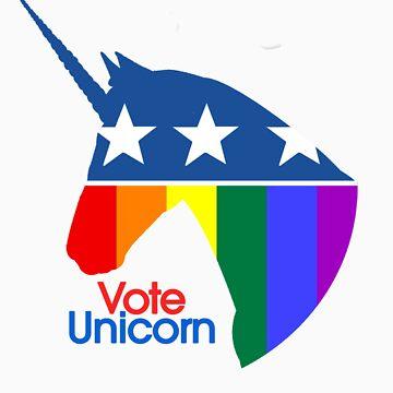 Vote Unicorn by pocketfriends