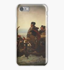 Washington Crossing The Delaware iPhone Case/Skin