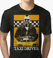 Taxi Driver Travis Bickle New York Design Tri-blend T-Shirt
