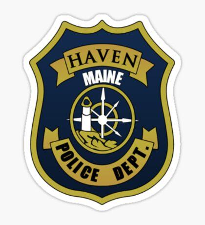 Haven PD. Sticker