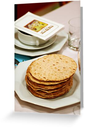 Matza and Haggada for pesach  by PhotoStock-Isra
