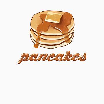 Pancakes! by waterslidepanda