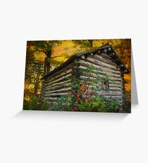 Appalachian Dream Home Greeting Card