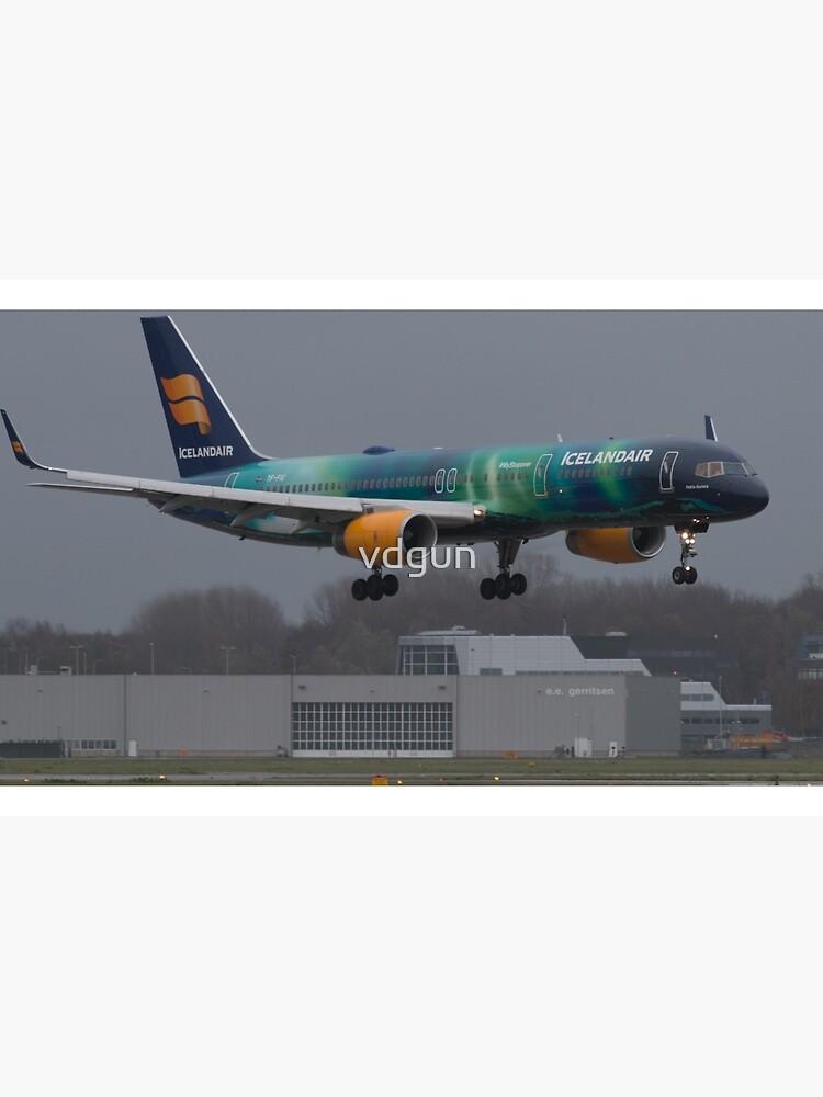 Icelandair Norden Licht von vdgun
