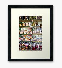 sweet shop Framed Print