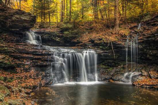 R.B. Ricketts Falls (closer) by Aaron Campbell
