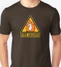 Fire Hazard  Unisex T-Shirt