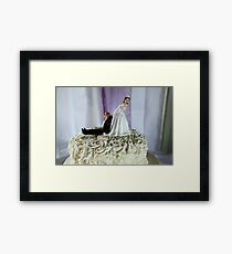 To The Happy Couple Framed Print