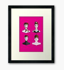 Audrey Style Framed Print