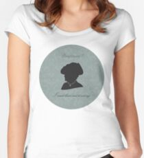 Violet Crawley Women's Fitted Scoop T-Shirt
