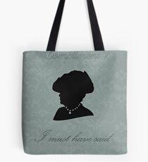Violet Crawley Tote Bag