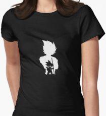 Goku and Vegeta Women's Fitted T-Shirt