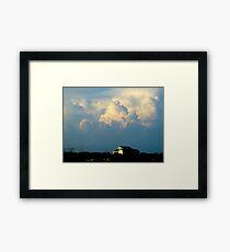 Cumulonimbus Clouds Framed Print
