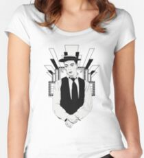 Presenting BUSTER KEATON Women's Fitted Scoop T-Shirt