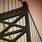 Ben Franklin Bridge by Jessica Manelis