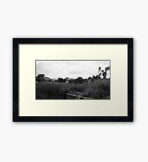 Desolate Fields Framed Print