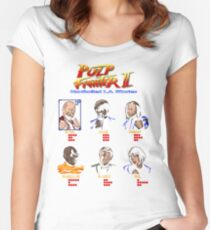 Pulp Fighter II Women's Fitted Scoop T-Shirt