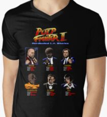 Pulp Fighter II Men's V-Neck T-Shirt