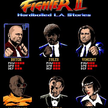 Pulp Fighter II by filippomorini
