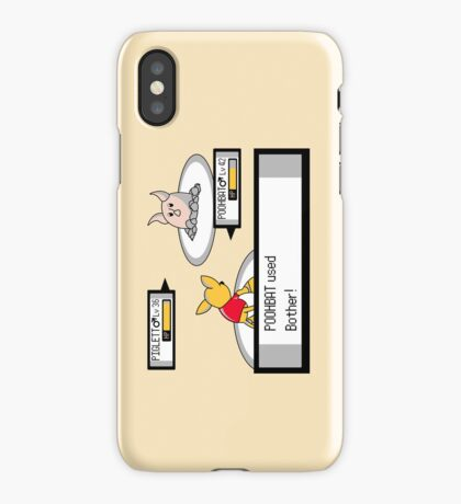 Poohkémon iPhone Case