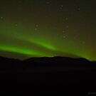 silhouette mountain by JorunnSjofn Gudlaugsdottir