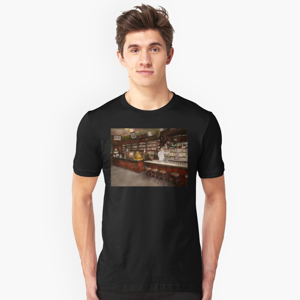 Apothecary - Cocke drugs apothecary 1895 Unisex T-Shirt Front