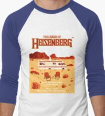 The Legend of Heisenberg Men's Baseball ¾ T-Shirt