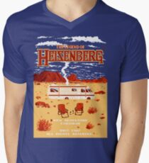 The Legend of Heisenberg Men's V-Neck T-Shirt