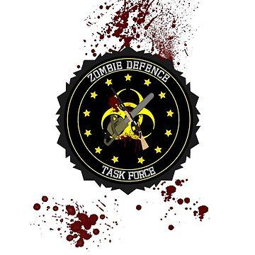 zombie defence Task Force by DesignStrangler