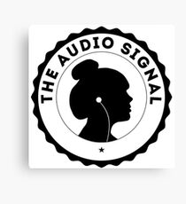 The Audio Signal Canvas Print