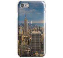 Midtown Manhattan Sunset iPhone Case/Skin