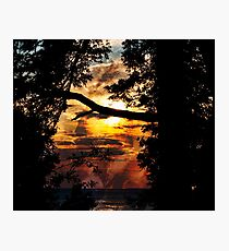 Sunsent Photographic Print