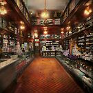 Drugstore - G.W. Armstrong drug store 1913 by Michael Savad