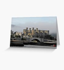 Conwy Castle Greeting Card