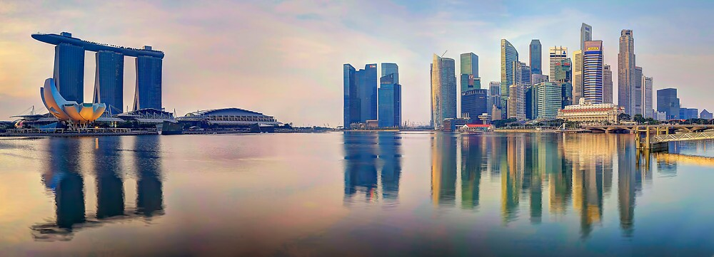 Hot In The City - Singapore by Maxwell Campbell