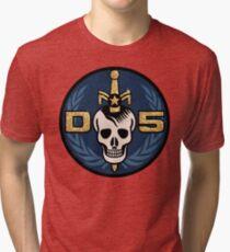 Danger 5 Emblem (Gigantic) Tri-blend T-Shirt