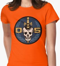 Danger 5 Emblem (Gigantic) Womens Fitted T-Shirt