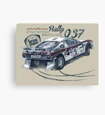 Rally Group B-Lancia 037 Rally Canvas Print
