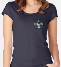 Danger 5 Emblem (Pocket) Women's Fitted Scoop T-Shirt