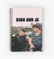 Cuaderno de espiral Kian y Jc en la azotea