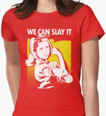 We Can Slay It Women's Fitted T-Shirt