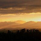 Sunset near Etty Bay by Peter Doré