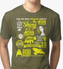 Shiny Quotes Tri-blend T-Shirt