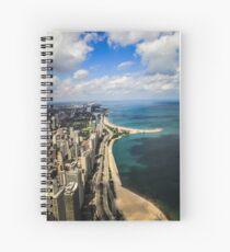 Chicago & Lake Michigan  Spiral Notebook