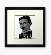NikolaTesla Framed Print