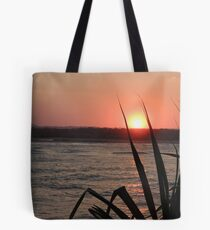 Sunset at the Spit Tote Bag
