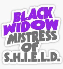 Mistress Widow Sticker