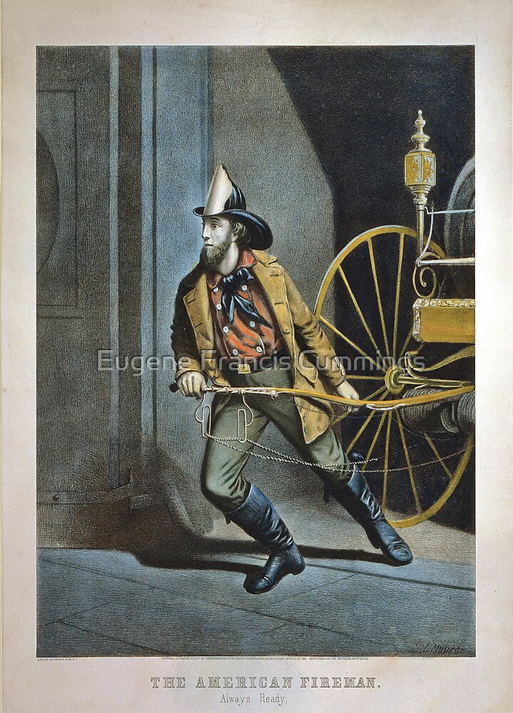 The American Fireman by Eugene Francis Cummings